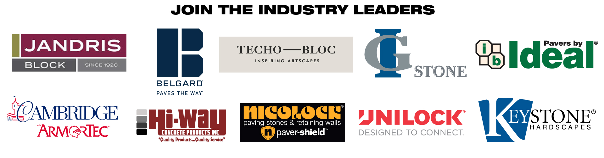 Join the Industry Leaders
